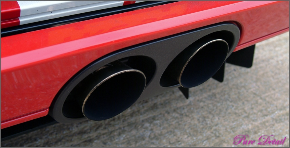 Dirty Ford Gt Exhaust