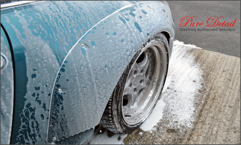 snow-foam-car-cleaning-lancashire-preston-north-west