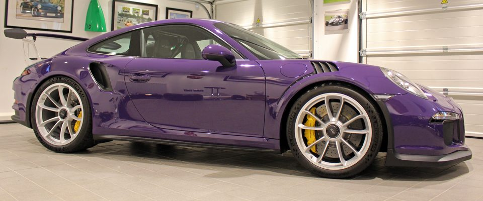 porsche 991 GT3 RS gtechniq detail by pure detail